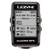 Велокомпьютер Lezyne MACRO GPS HR LOADED черный
