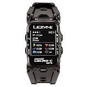 Часы Lezyne MICRO C GPS WATCH COLOR HR черный