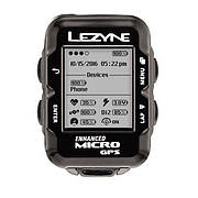Велокомпьютер Lezyne MICRO GPS HR LOADED черный