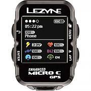 Велокомпьютер Lezyne MICRO COLOR GPS HRSC LOADED черный