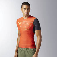 Мужская компрессионная футболка Reebok CROSSFIT(АРТИКУЛ:B45169)