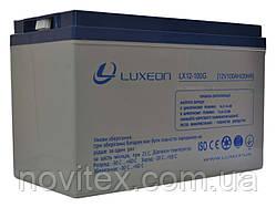Акумулятор гелевий Luxeon LX12-100G 12V 100Ah