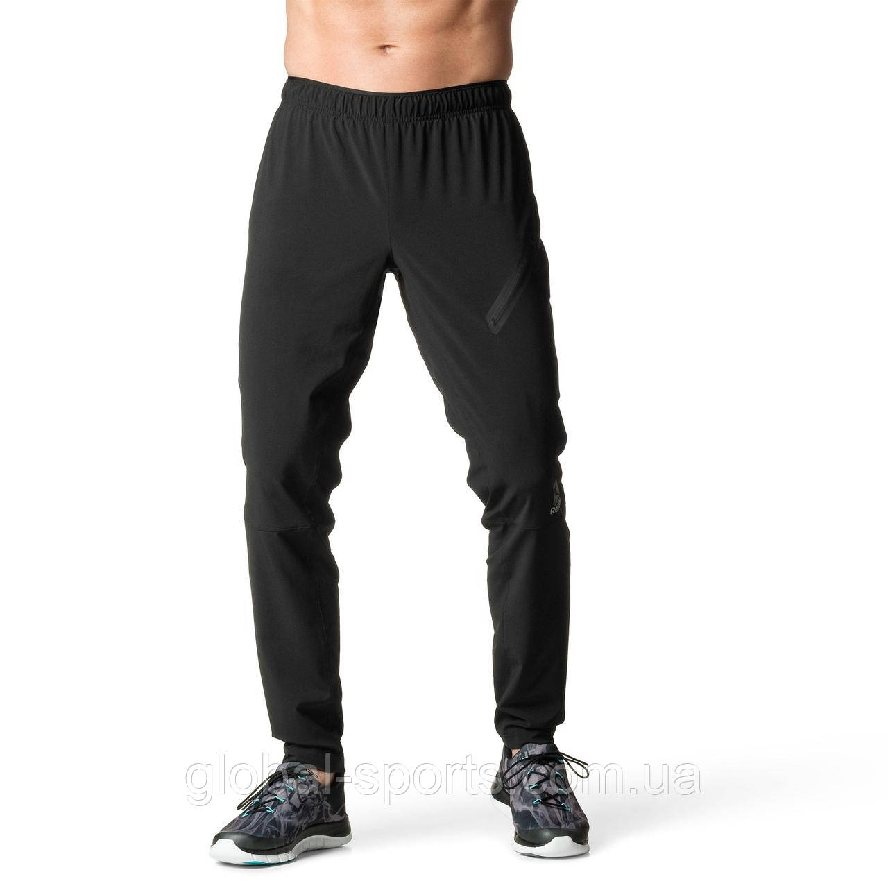 Мужские спортивные штаны Reebok Trackster Pants(Артикул:B45116)
