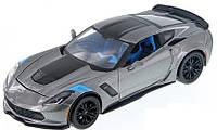 Автомодель Maisto 1:24 2017 Corvette Grand Sport (31516 met. grey) , фото 1
