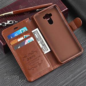 """Xiaomi Redmi 4 PRO оригинальный кожаный чехол книжка кошелёк с карманами противоударный на телефон """"ASPENZ"""""""