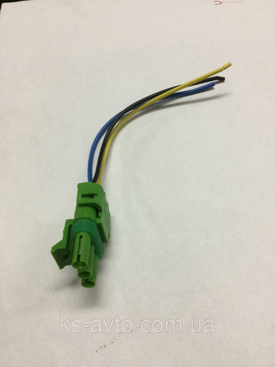 Фишка (разъем проводки) датчика абсолютного давления Ланос