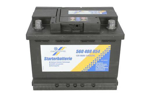 Аккумулятор Cartechnic 60Ah/540A ULTRA POWER (R+) 242x175x190 , фото 2