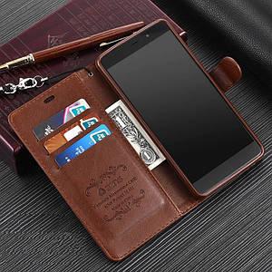 """Xiaomi Mi 5s Plus оригинальный кожаный чехол книжка кошелёк с карманами противоударный на телефон """"ASPENZ"""""""