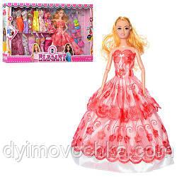 Кукла с нарядом 168 29см. платья 14шт, аксессуары, микс видов, в кор-ке, 54-32,5-6см