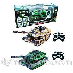 Игрушка танк 1018 р/у, 26см,вращ.башня,стрел.пульками,пульки,на батарейке