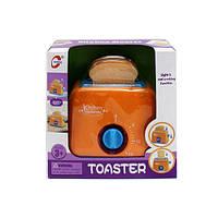 Игрушка тостер 1021 11см, свет, на бат-ке, в кор-ке, 20-20,5-10см