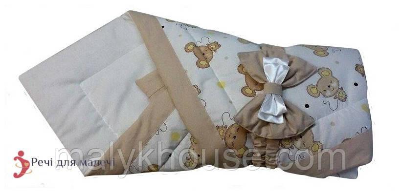 Конверт-ковдру для новонародженого Мишеня