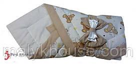 Конверт-одеяло для новорожденного Мышонок