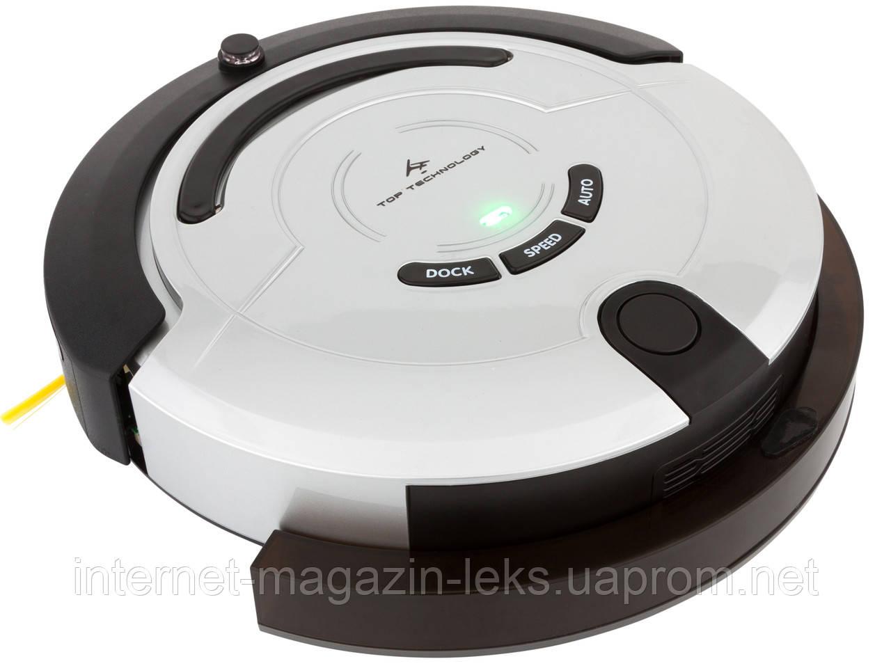Робот-пылесос Top Technology TT-R01 база + подача воды + турбощетки!)