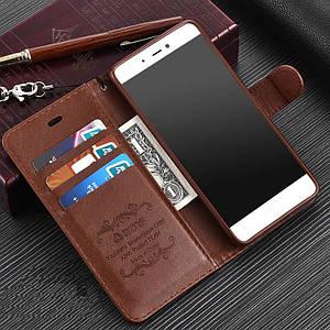 """Xiaomi Mi 5s оригинальный кожаный чехол книжка кошелёк с карманами противоударный на телефон """"ASPENZ"""""""