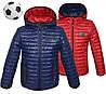 Демисезонная детская курточка для мальчика двухстороннняя, фото 3