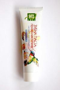Зубная паста с экстрактом цветов календулы, 100 мл