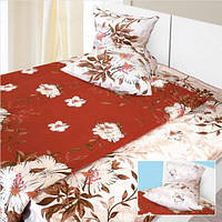 Двуспальный комплект постельного белья в цветы