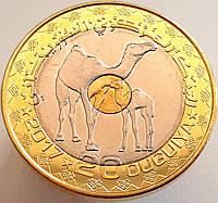 Мавритания 20 угий 2017