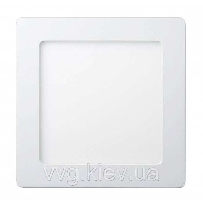 Точечный LED светильник накладной квадратный 12W 174x174мм 4200K 950lm Lezard