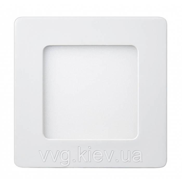 Точечный LED светильник накладной квадратный 6W 120x120мм 6400K 470lm Lezard