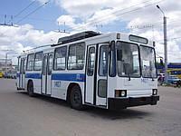 Стекло ветровое (лобовое) на троллейбус ЮМЗ