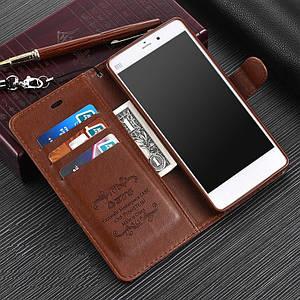 """Xiaomi Mi Note оригинальный кожаный чехол книжка кошелёк с карманами противоударный на телефон """"ASPENZ"""""""