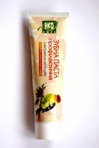 Зубная паста с экстрактом листьев дуба, 100 мл