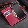 """Xiaomi Mi Note 3 оригинальный кожаный чехол книжка кошелёк с карманами противоударный на телефон """"ASPENZ"""", фото 6"""