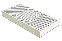 Латекс для матраса натуральный блок высота 10 см размер 120х200 (3 зоны жесткости)