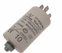 Конденсатор со сдвоенным выводами и болтом 10μF(119RIR294)
