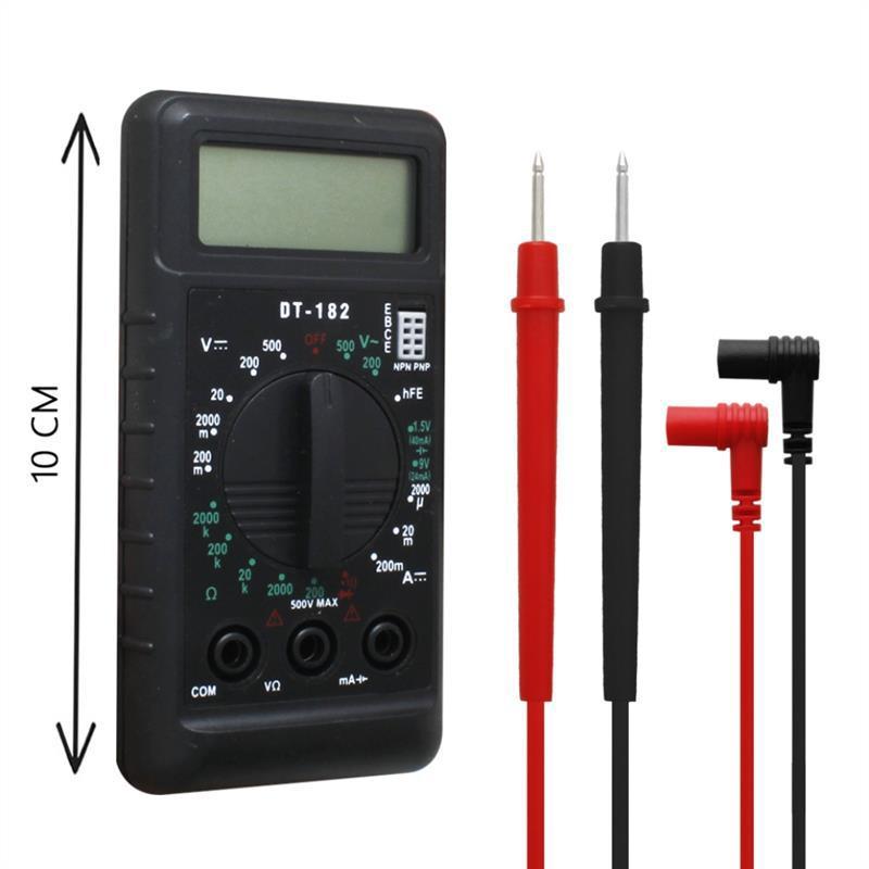 Цифровой мультиметр  DT-182 тестер вольтметр