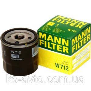 Фильтр масляный Ланос MANN