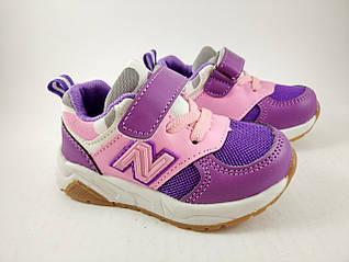 Обувь для девочек, кроссовки детские фиолетовые Tom.M