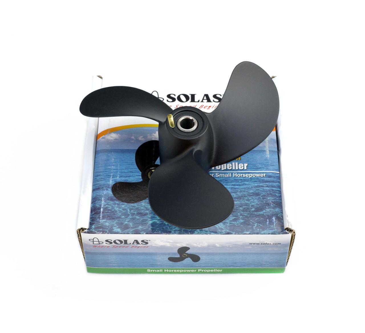 Винт гребной для лодочного мотора Solas Mercury, Tohatsu 2.5-3.3 л.с.
