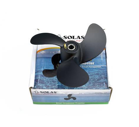 Винт гребной для лодочного мотора Solas Mercury, Tohatsu 2.5-3.3 л.с., фото 2