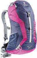 Рюкзаки 14 л. для прогулок на природу, велопрогулок AC LITE 14 DEUTER, 34601 3503 фиолетовый