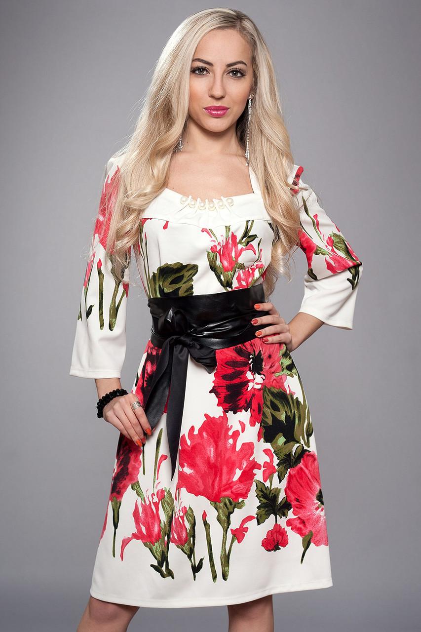Платье женское мод 618-27,размер 50,52