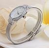 Женские часы серебристые с браслетом Миланского Плетения Mesh Straps, фото 3