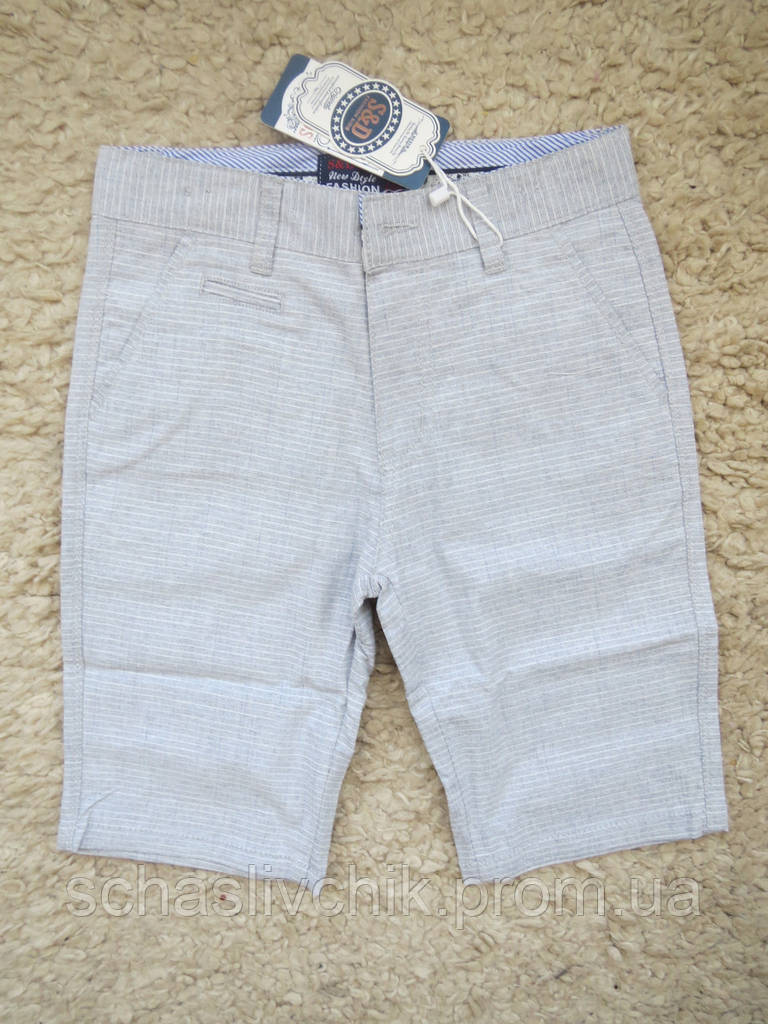 Детские джинсовые бриджи, шорты для мальчиков и девочек, размер 4-12, фирма S&D