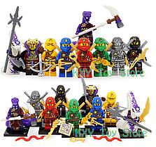 Набор Лего Ниндзяго мини фигурки Аналог Конструктор Игрушки