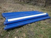 Трубы обсадные нПВХ пластиковые на резьбах для скважин