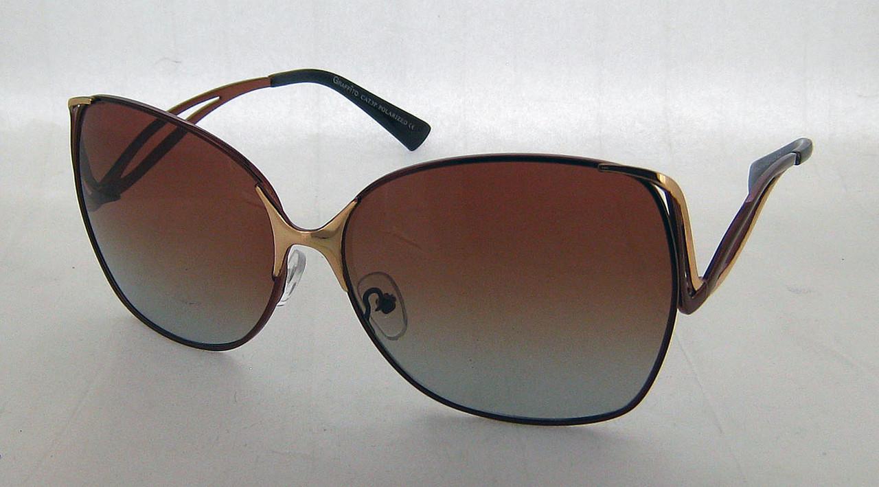 Очки Polarized Graffito С2 коричневые - megamarket7km - лучшие товары с  минимальной наценкой в Одессе 4b0912e6543af