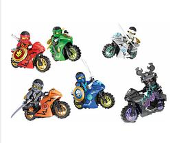Набор Лего Ниндзяго с мотоциклами мини фигурки Аналог Конструктор Игрушки