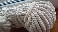 Веревка хлопок 6 мм - 100м (х.б)