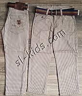Яркие штаны,джинсы для мальчика 3-7 лет(ромбик бежевые) розн пр.Турция, фото 1