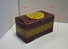 Праздничная картонная упаковка к Пасхе для конфет, 150-300г, фото 3