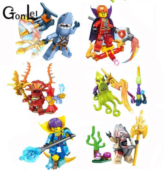 Набор Лего Морской мини фигурки Аналог Конструктор Игрушки