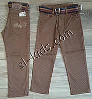 Яркие штаны,джинсы для мальчика 3-7 лет(ромбик коричневые) опт пр.Турция, фото 1