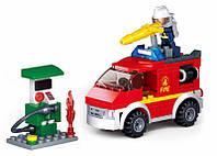Конструктор Sluban Город Пожарная Машина, 136 дет., M38-B0623, 007430, фото 1